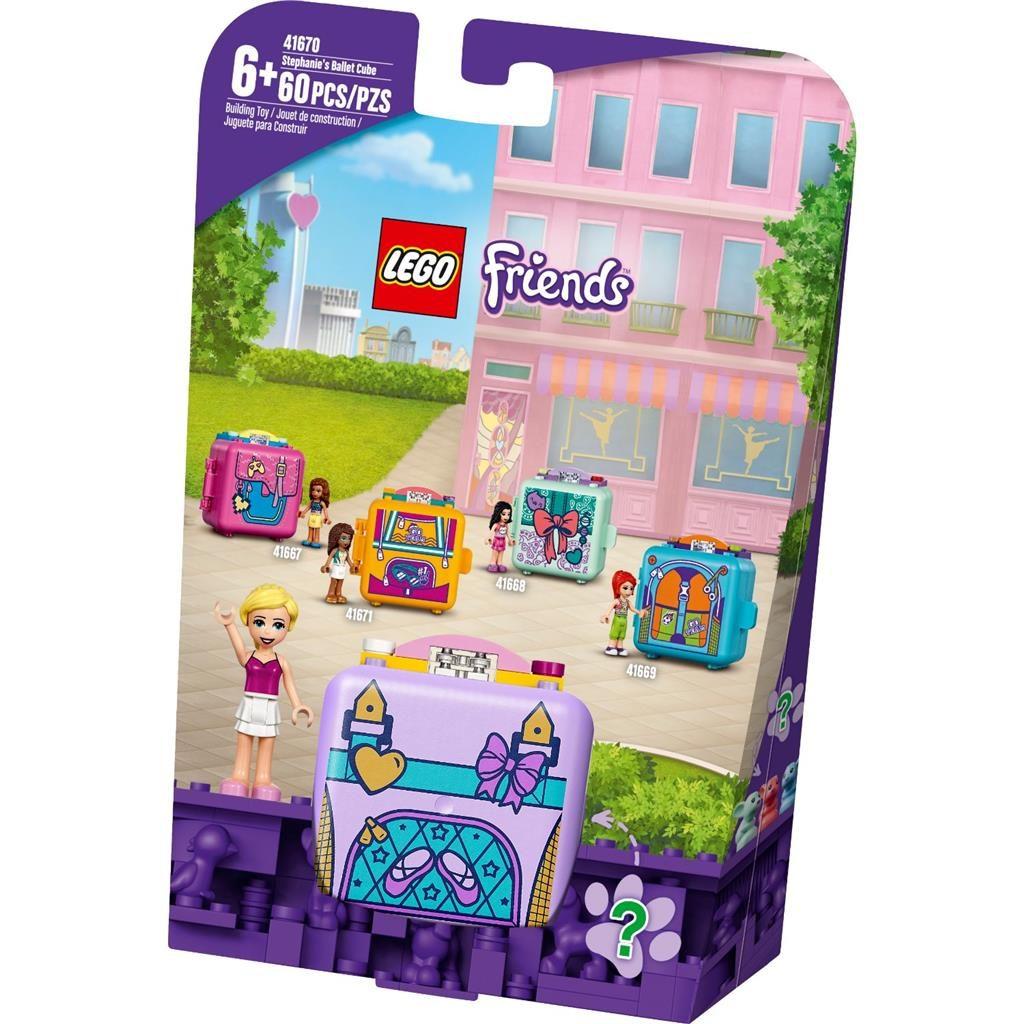 LEGO FRIENDS 41670 STEPHANIES BALLET CUBE 1 1024x1024