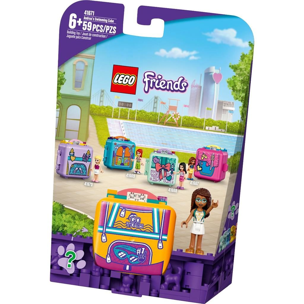 LEGO FRIENDS 41671 ANDREAS SWIMMING CUBE 1 1024x1024
