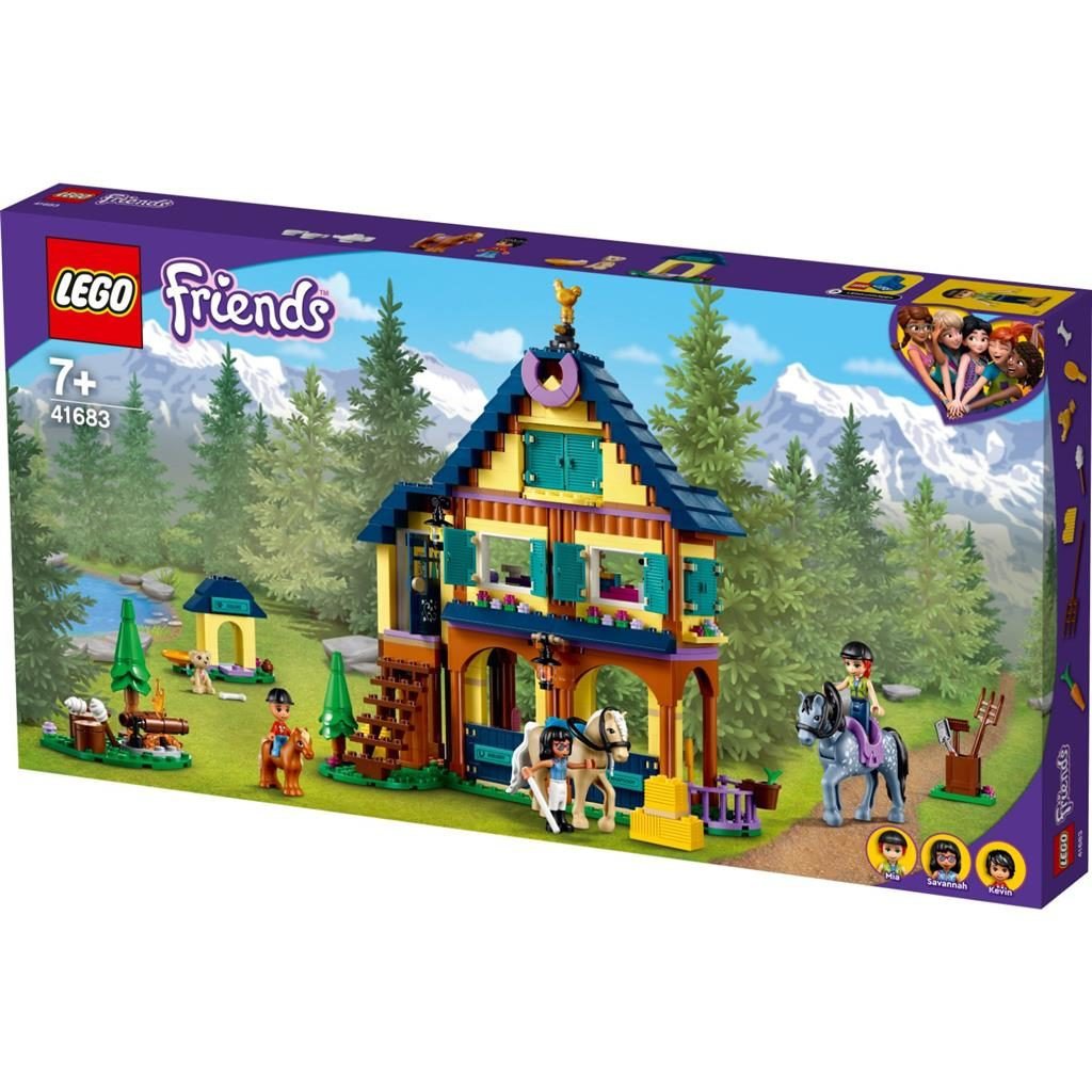 LEGO FRIENDS 41683 FOREST HORSEBACK RIDING CENTER 1 1024x1024