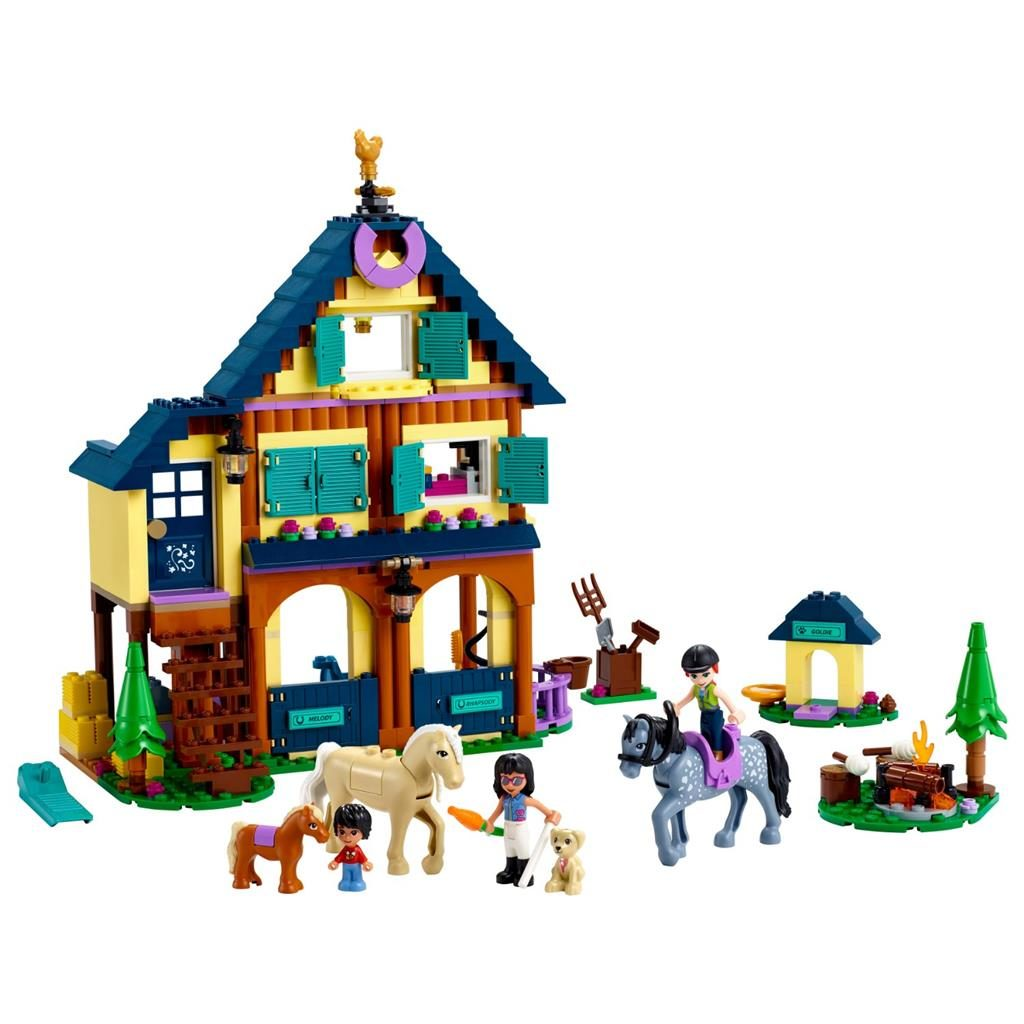 LEGO FRIENDS 41683 FOREST HORSEBACK RIDING CENTER 2 1024x1024
