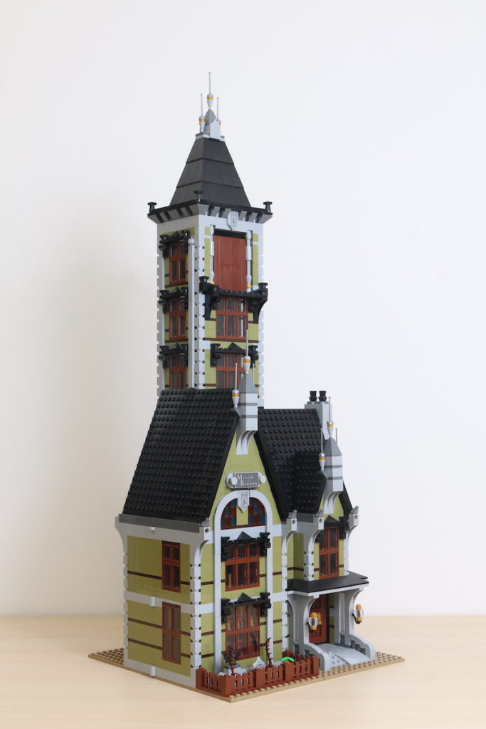 LEGO Fairground Collection 10273 Haunted House Review 25