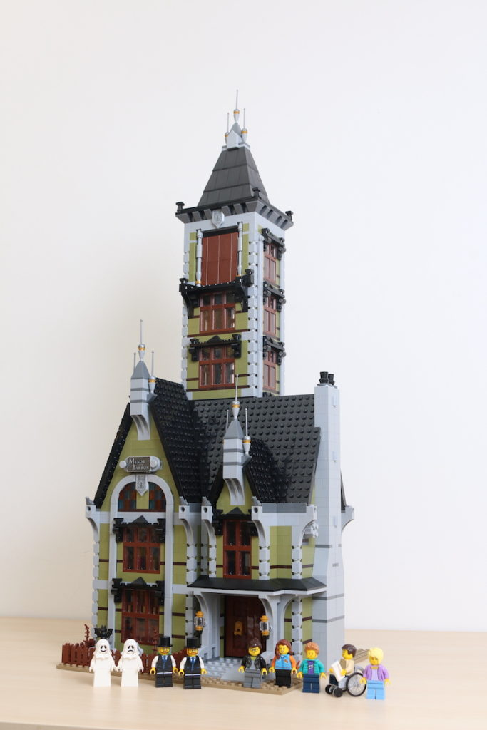 LEGO Fairground Collection 10273 Haunted House Review 30
