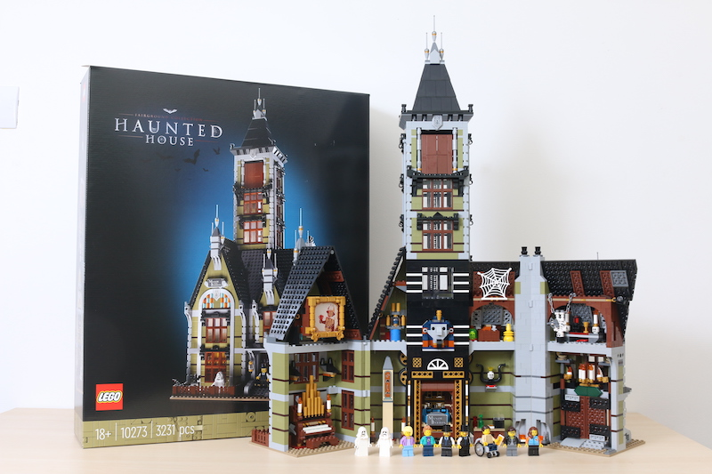 LEGO Fairground Collection 10273 Haunted House Review 50