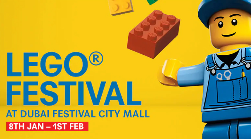 LEGO Festive at Dubai Festival City Mall