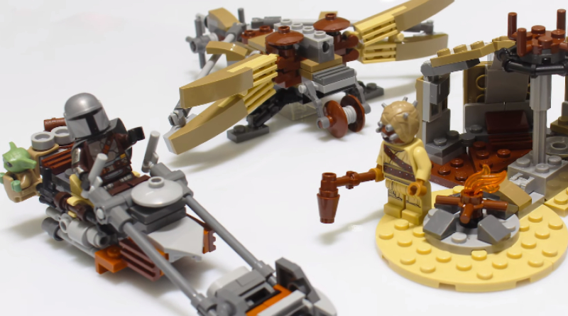 LEGO First Look Trouble On Tatooine Featured