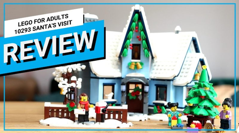 LEGO For Adults 10293 Santas Visit video review featured