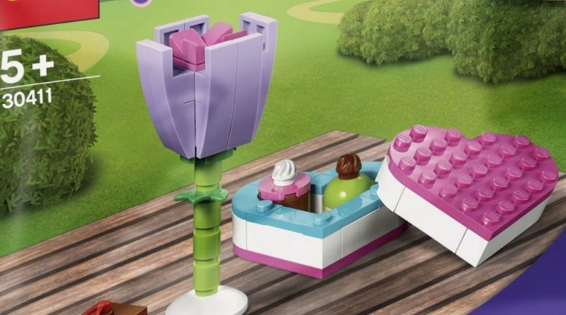 LEGO Friends 30411 Chocolate Box Flowers Featured