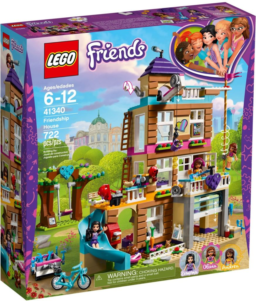 LEGO Friends 41340 Friendship House 2