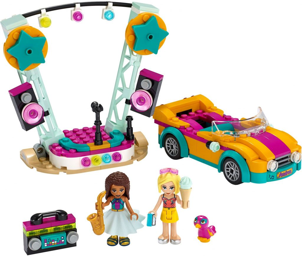 LEGO Friends 41390 Andreas Car Stage