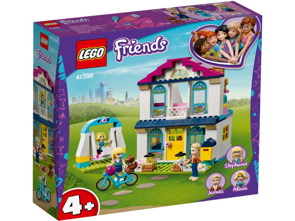 LEGO Friends 41398 Stephanies House 1