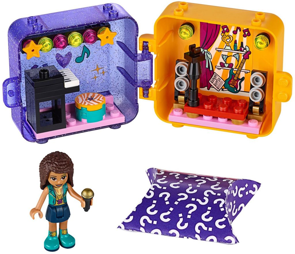 LEGO Friends 41400 Andreas Play Cube Singer