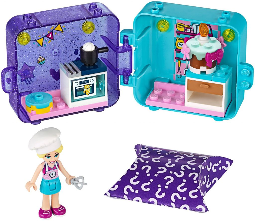 LEGO Friends 41401 Stephanies Play Cube Baker