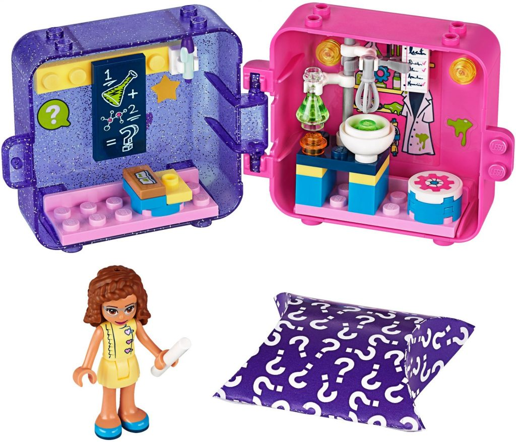 LEGO Friends 41402 Olivias Play Cube Researcher