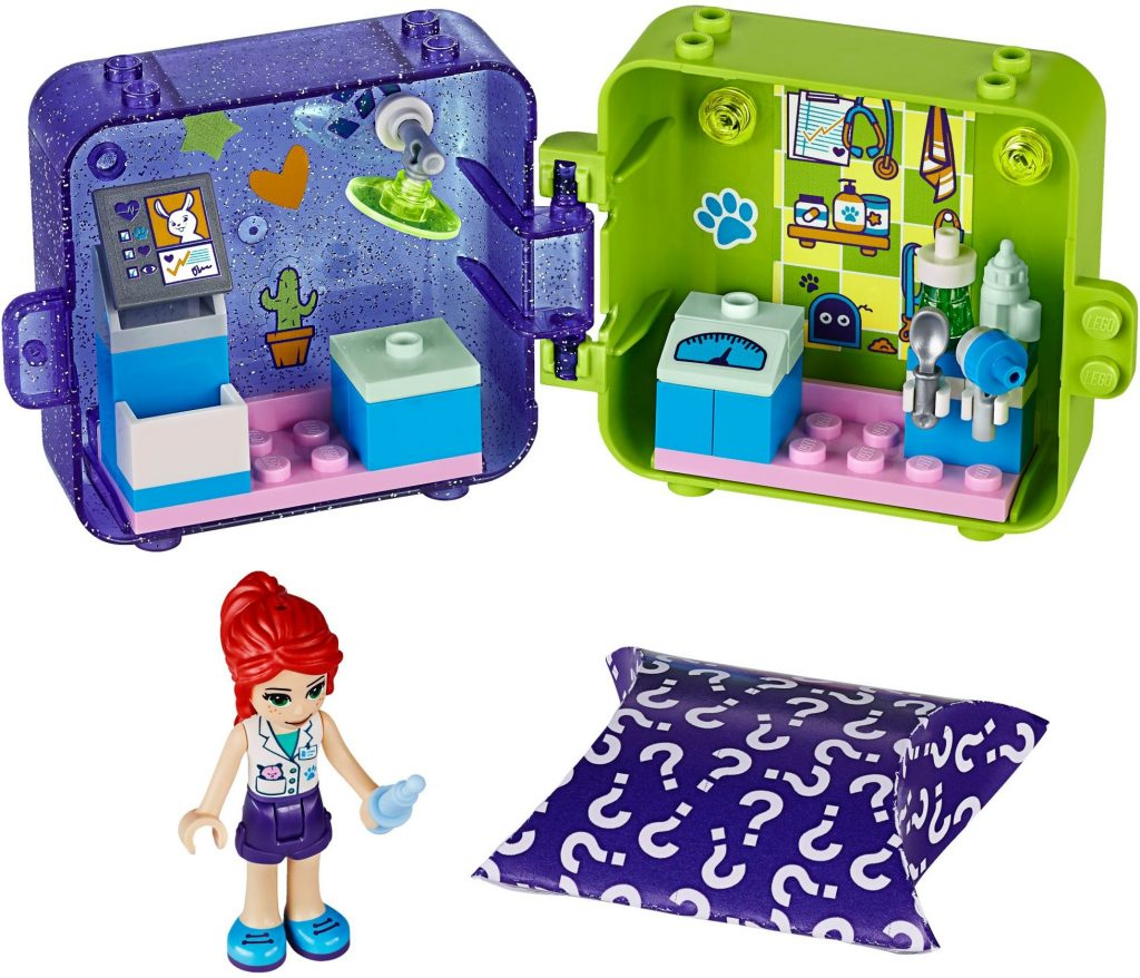 LEGO Friends 41403 Mias Play Cube Veterinarian