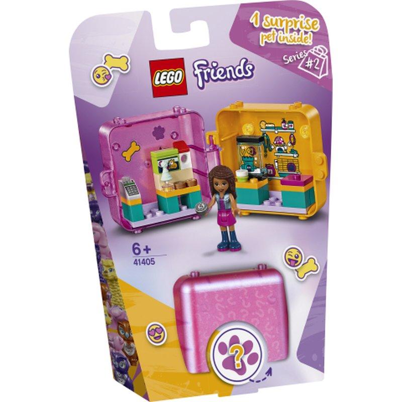 LEGO Friends 41405 Andreas Play Cube Pet Shop 1