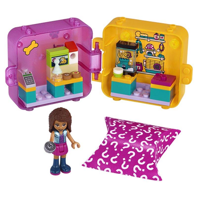 LEGO Friends 41405 Andreas Play Cube Pet Shop 2