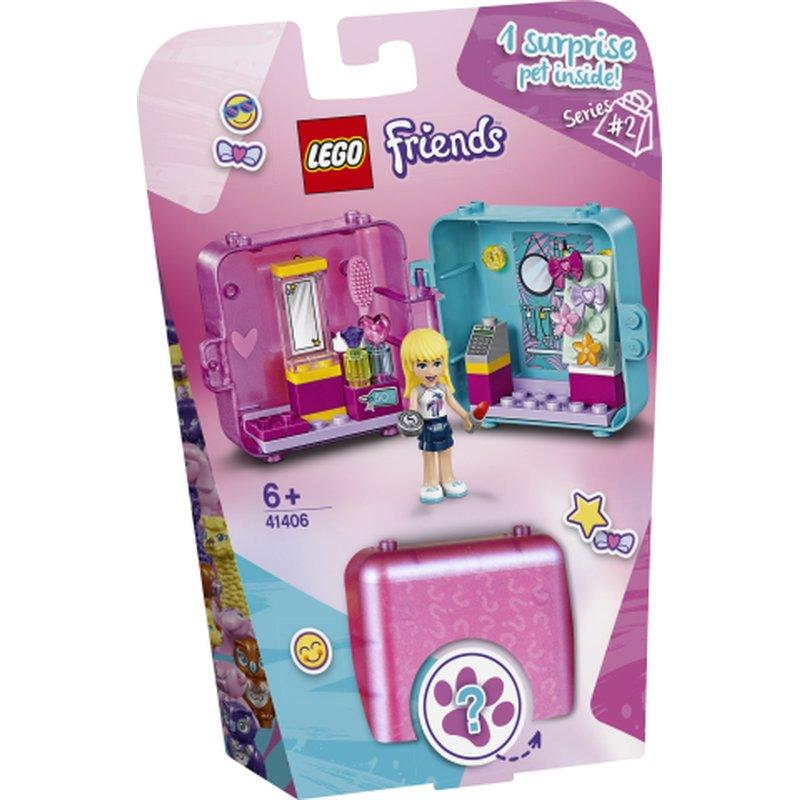 LEGO Friends 41406 Stephanies Play CUbe 1