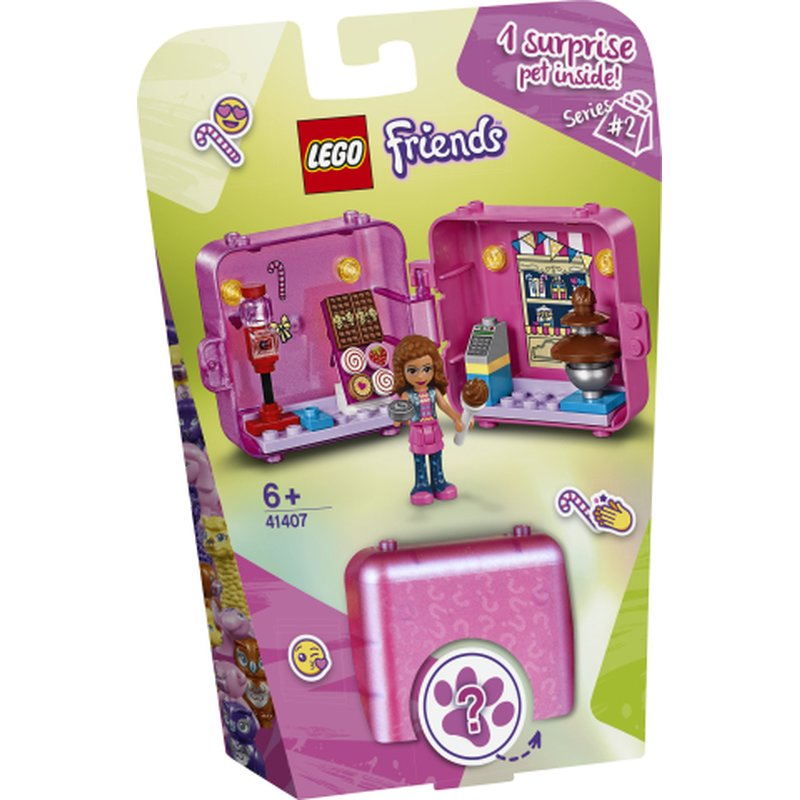 LEGO Friends 41407 Olivias Play Cube 1