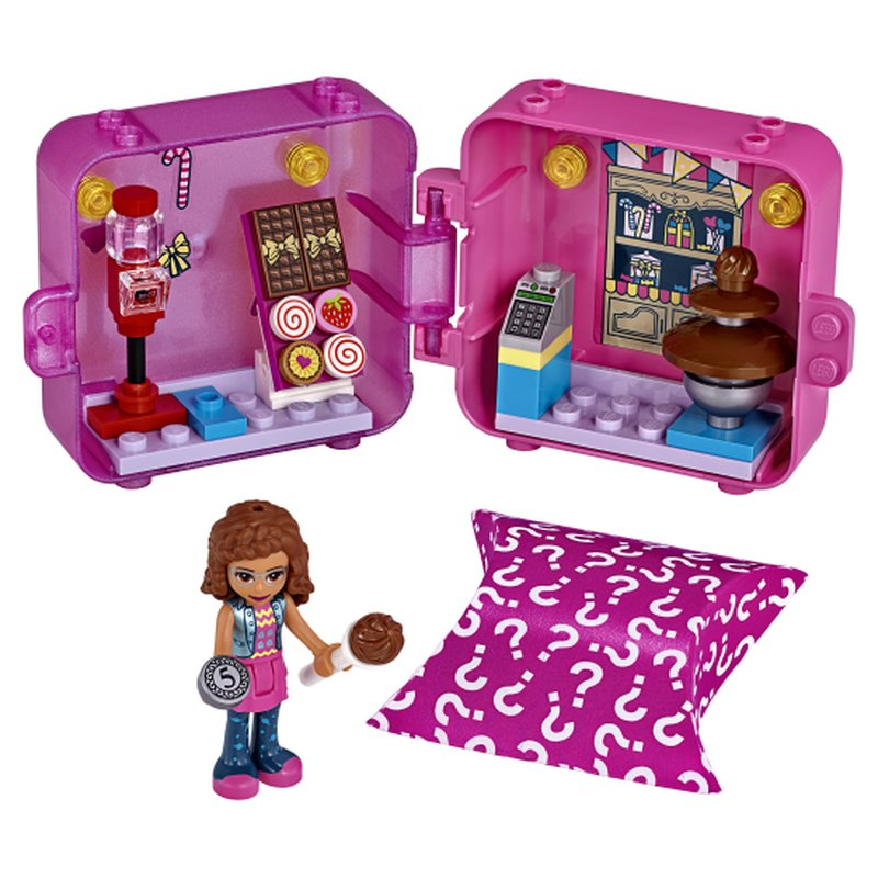 LEGO Friends 41407 Olivias Play Cube 2