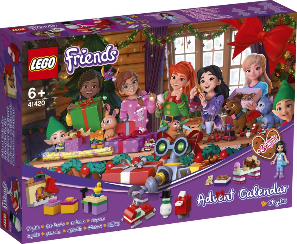 LEGO Friends 41420 Advent Calendar 1