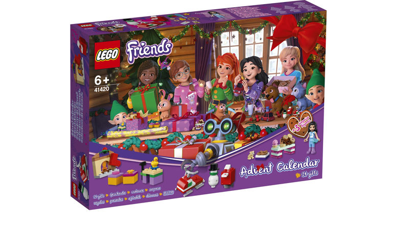 LEGO Friends 41420 Advent Calendar Featured 800x445