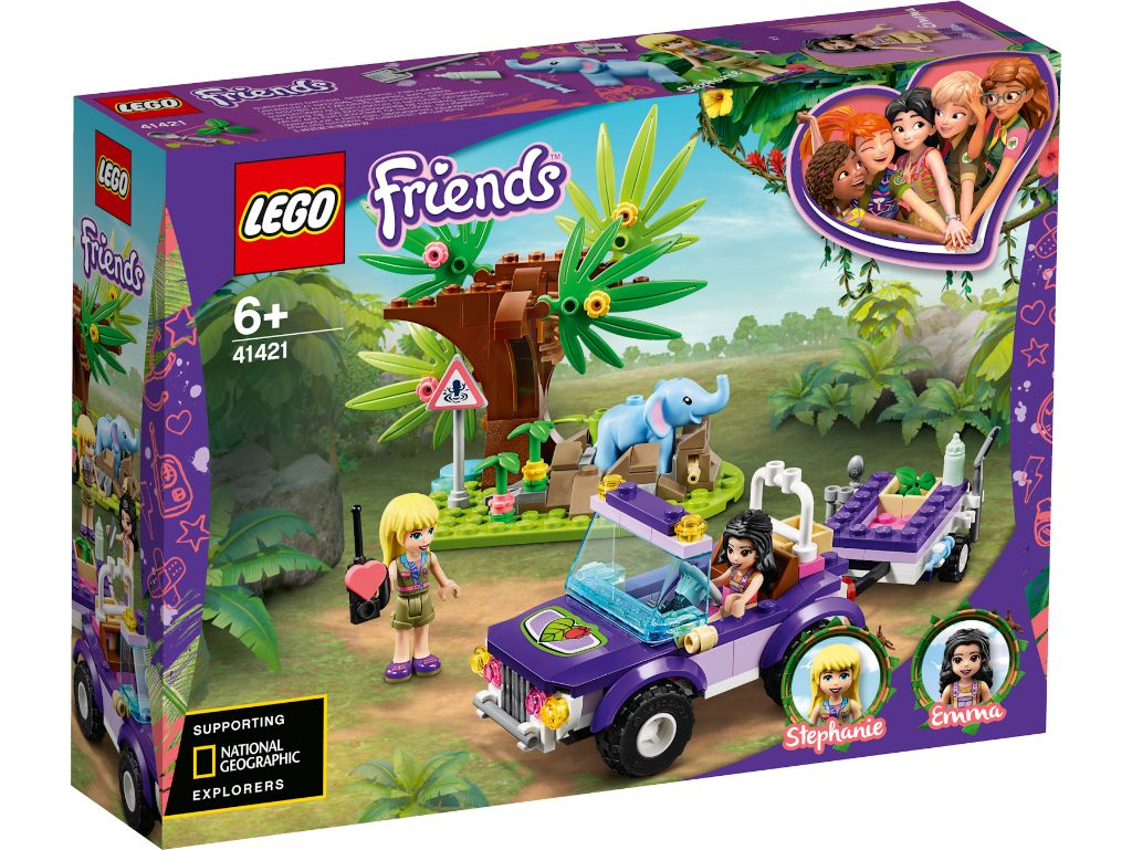 LEGO Friends 41421 Baby Elephant Jungle Rescue 1