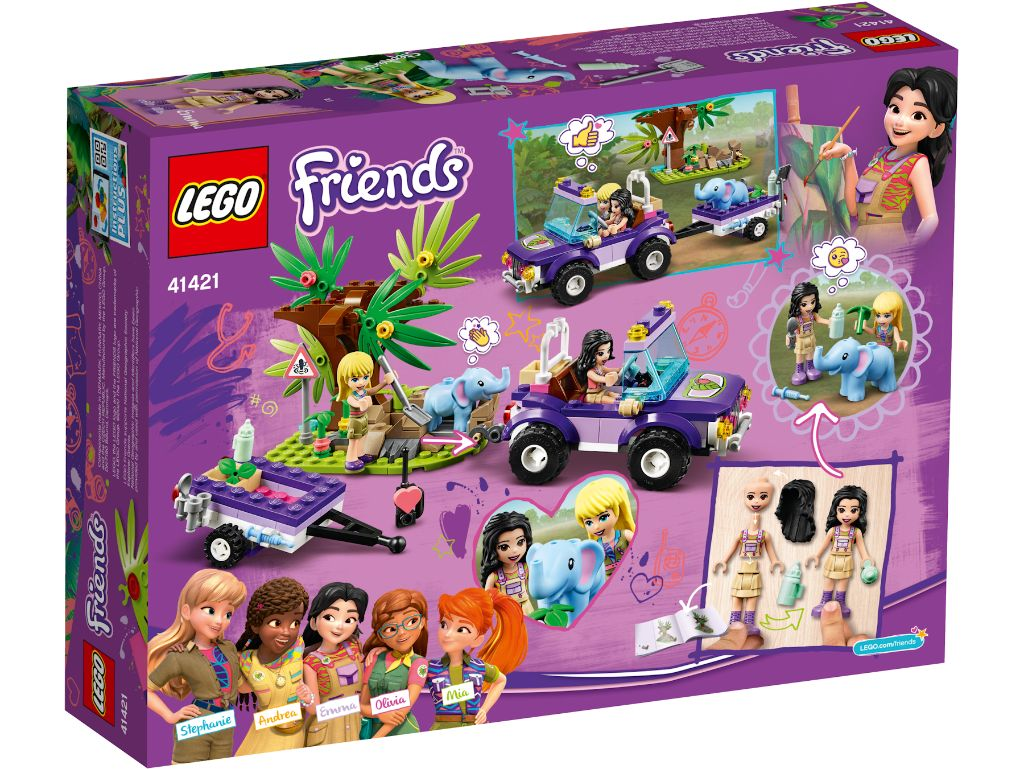 LEGO Friends 41421 Baby Elephant Jungle Rescue 2