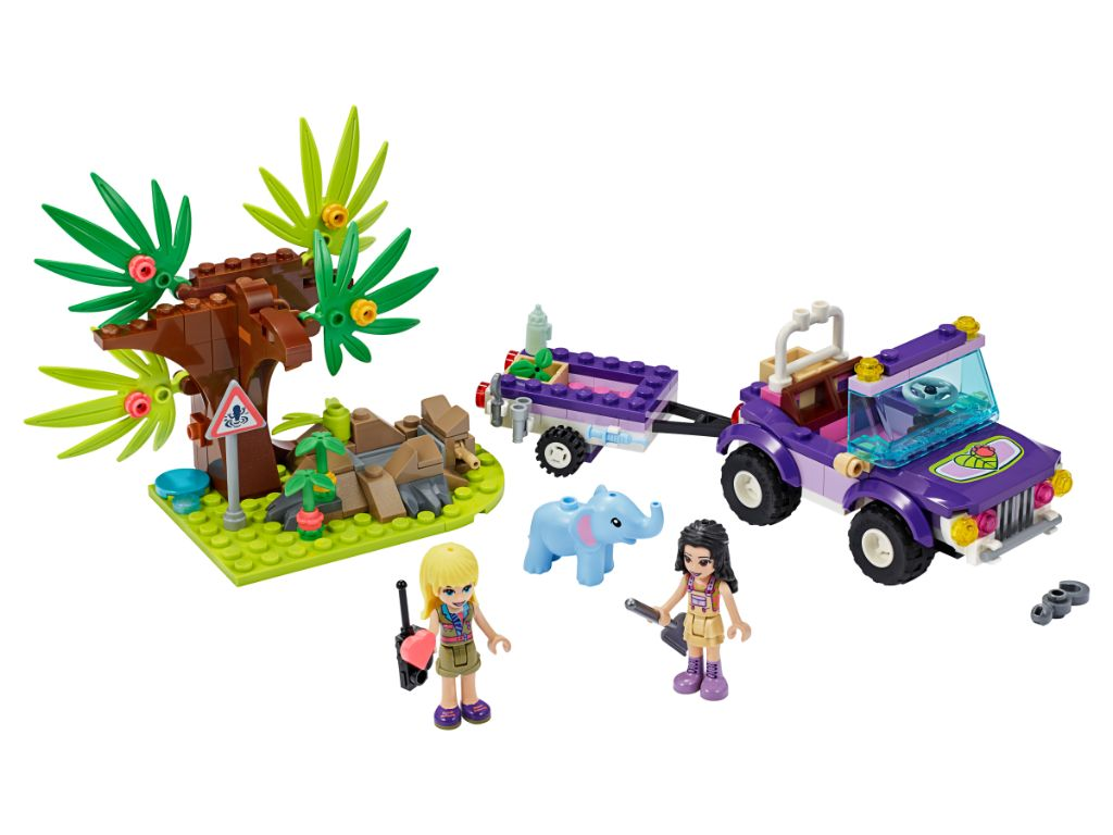 LEGO Friends 41421 Baby Elephant Jungle Rescue 3