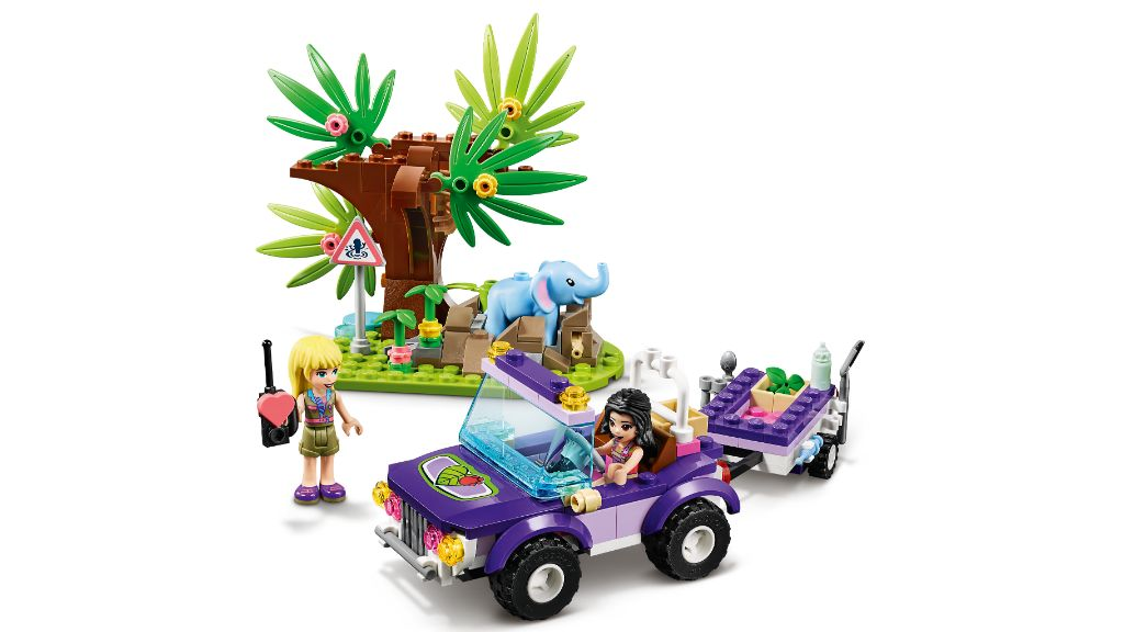 LEGO Friends 41421 Baby Elephant Jungle Rescue 4