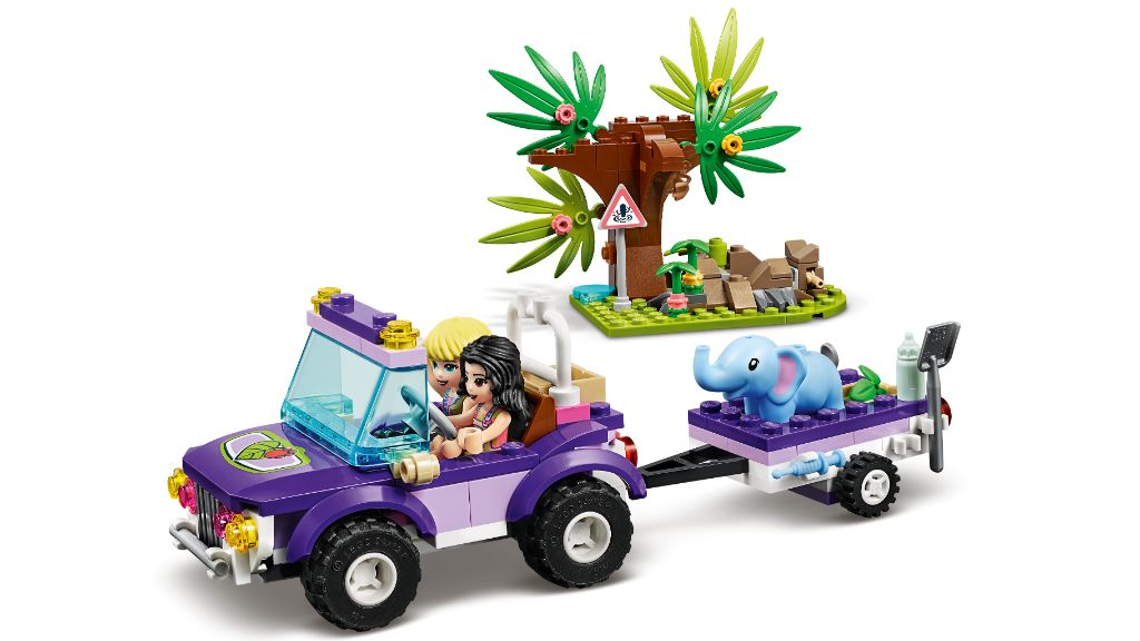LEGO Friends 41421 Baby Elephant Jungle Rescue 6