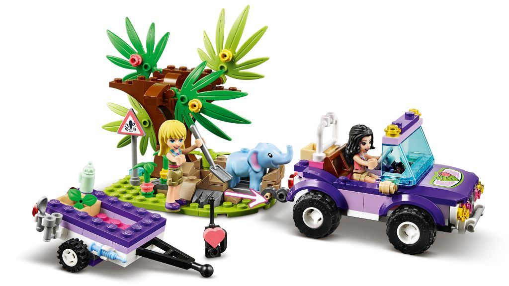 LEGO Friends 41421 Baby Elephant Jungle Rescue 8