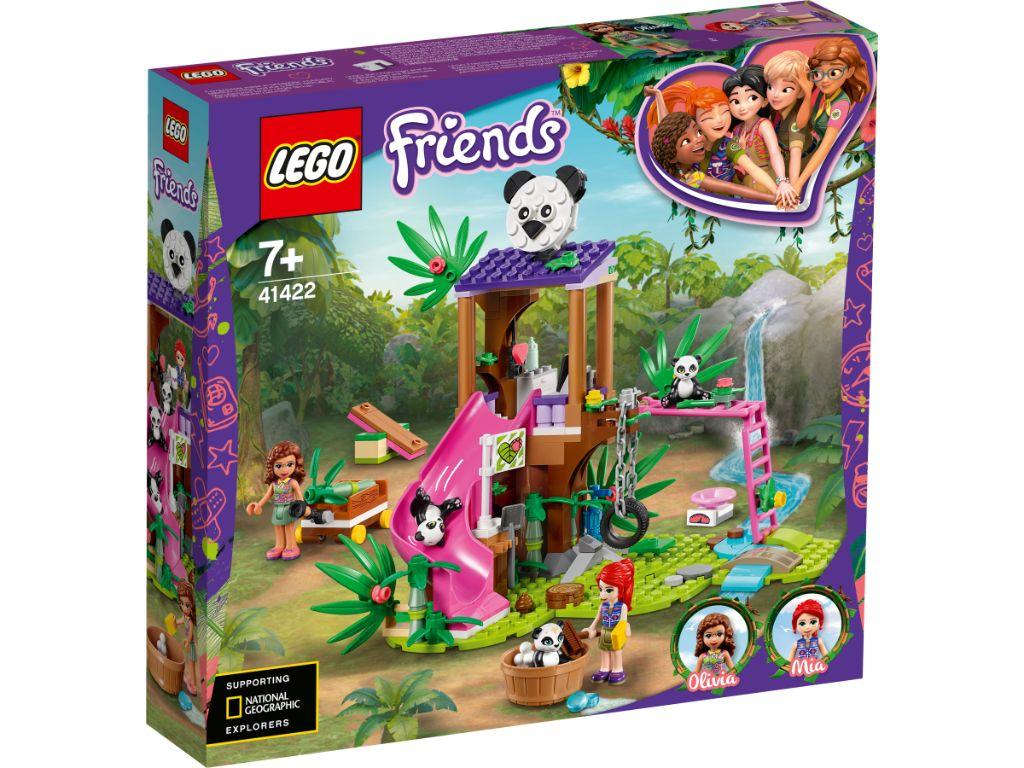 LEGO Friends 41422 Panda Jungle Tree House 1