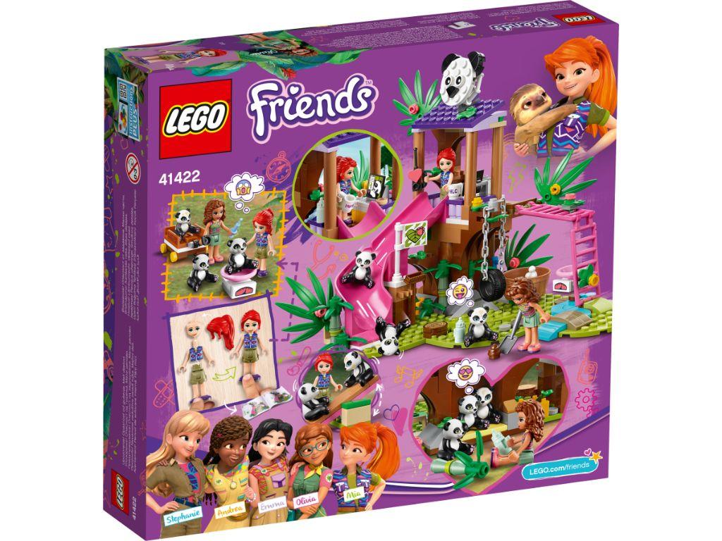 LEGO Friends 41422 Panda Jungle Tree House 2