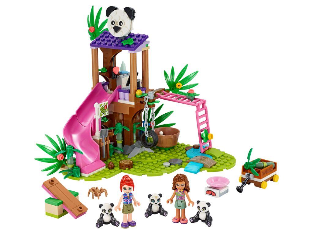 LEGO Friends 41422 Panda Jungle Tree House 3