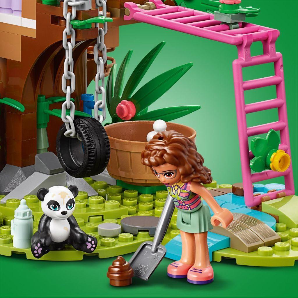 LEGO Friends 41422 Panda Jungle Tree House 9 1024x1024