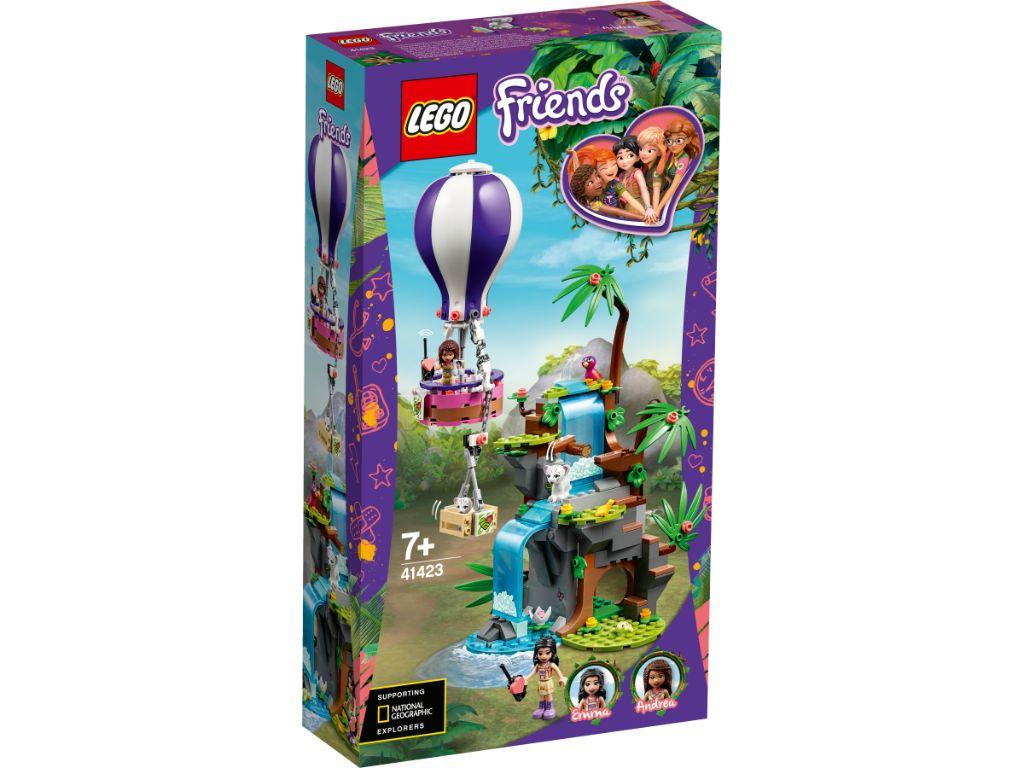 LEGO Friends 41423 Tiger Hot Air Balloon Jungle Rescue 1
