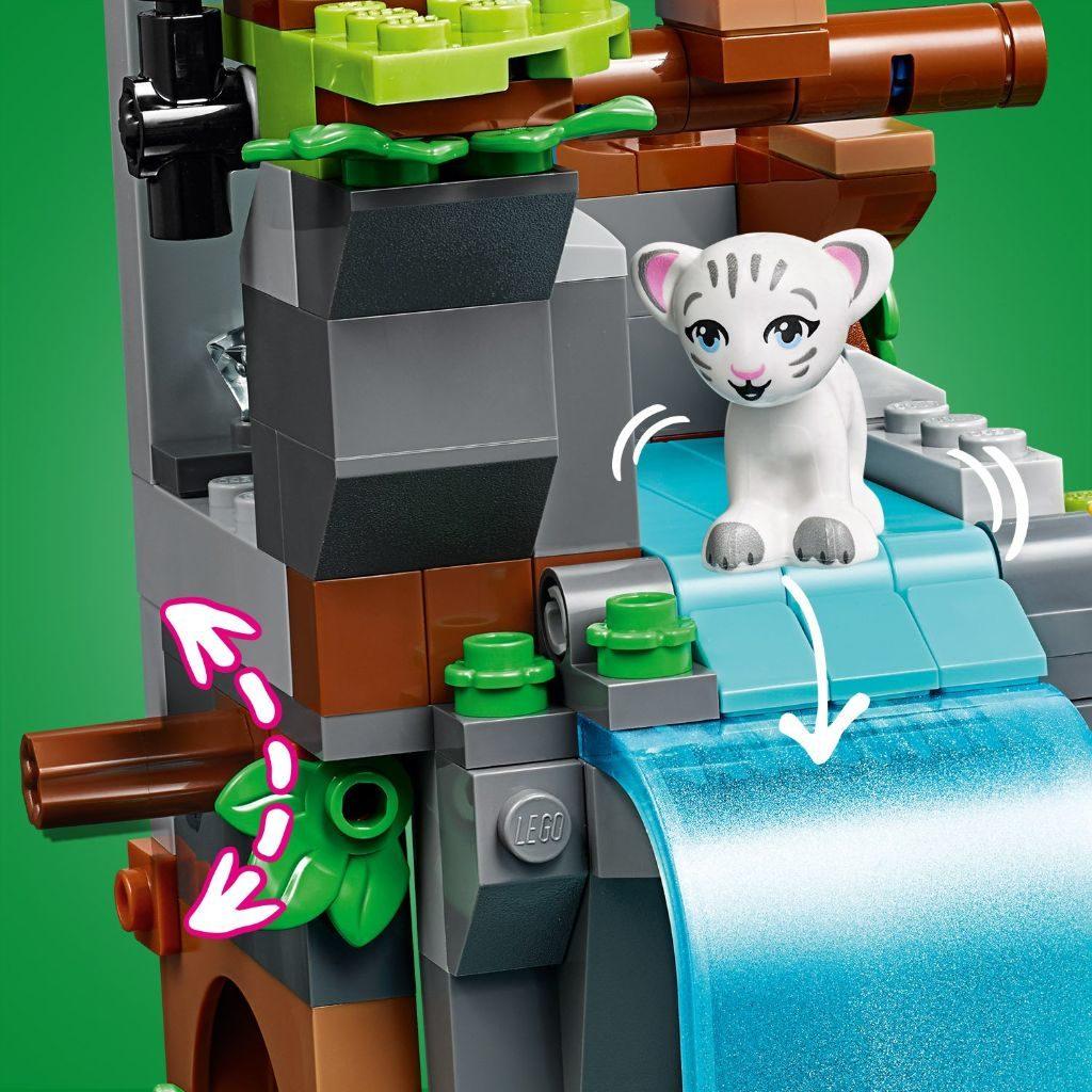 LEGO Friends 41423 Tiger Hot Air Balloon Jungle Rescue 10 1024x1024