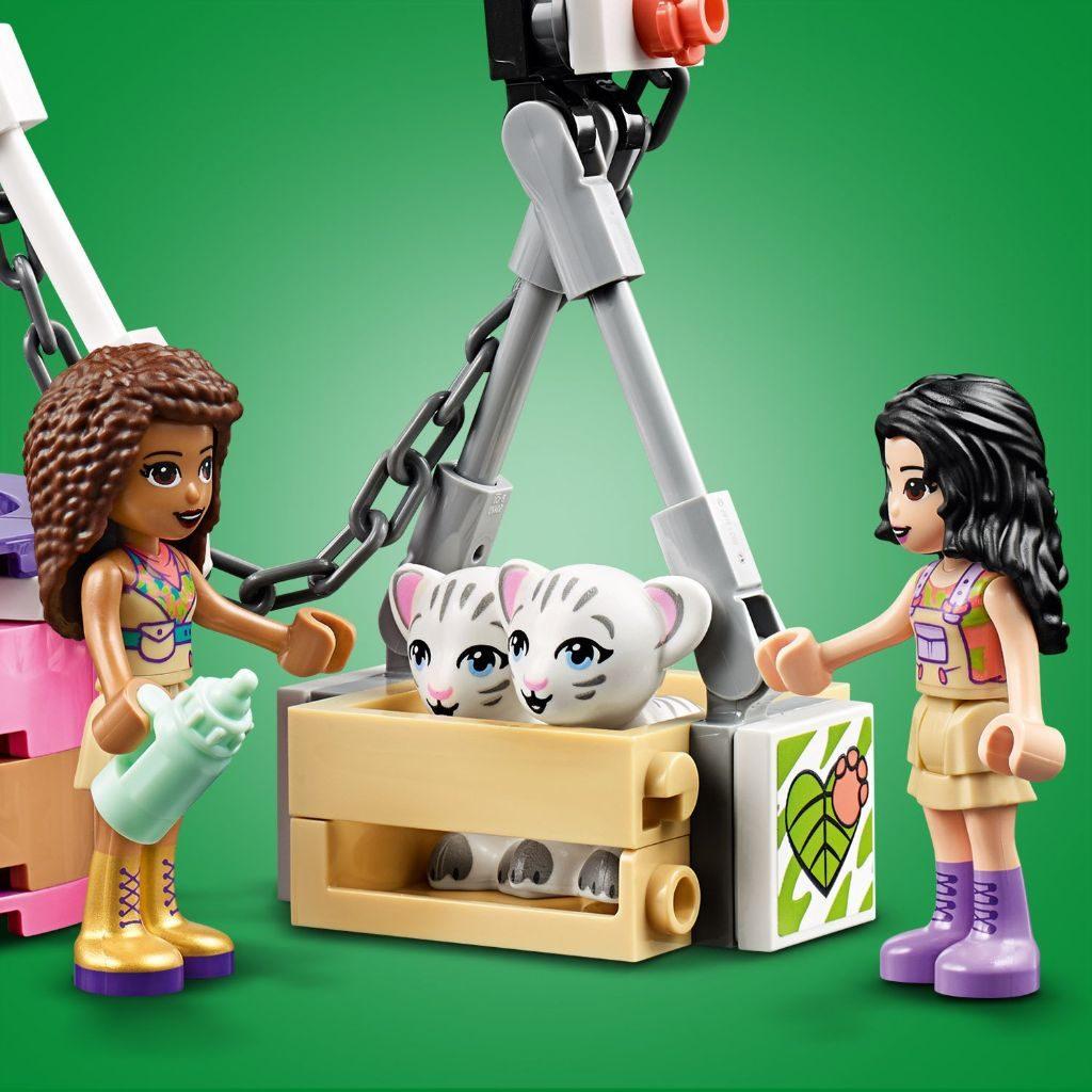 LEGO Friends 41423 Tiger Hot Air Balloon Jungle Rescue 12 1024x1024