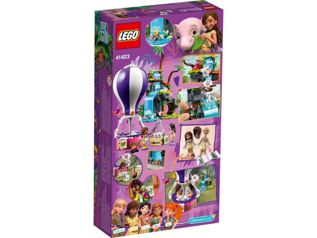 LEGO Friends 41423 Tiger Hot Air Balloon Jungle Rescue 2