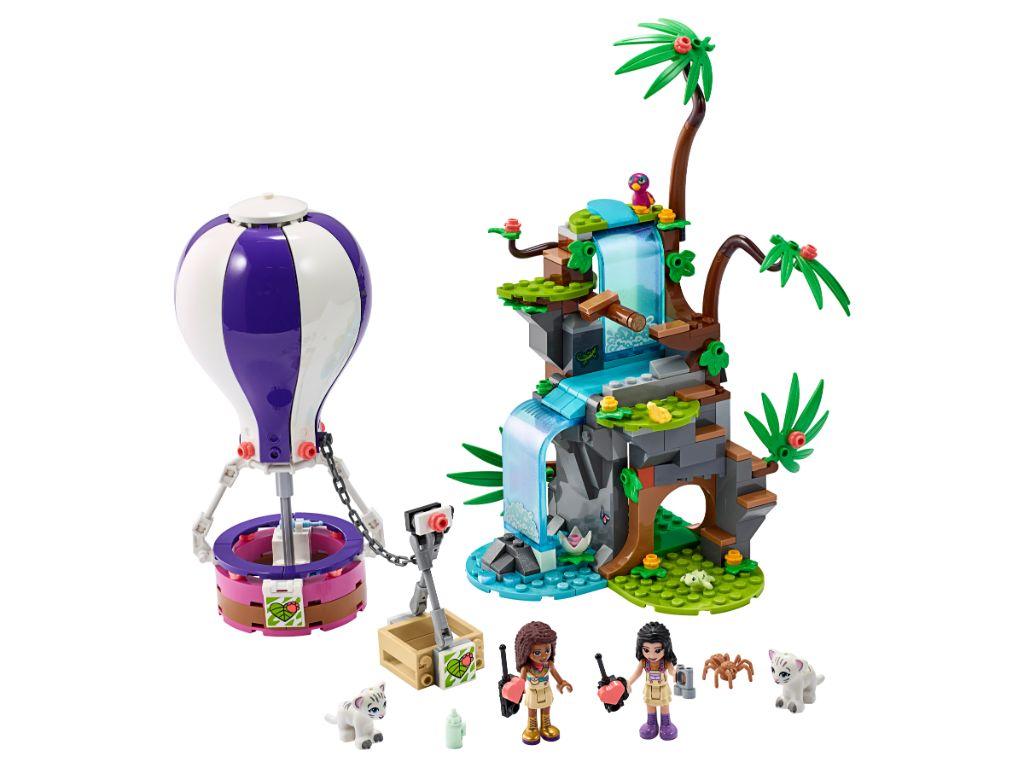 LEGO Friends 41423 Tiger Hot Air Balloon Jungle Rescue 3