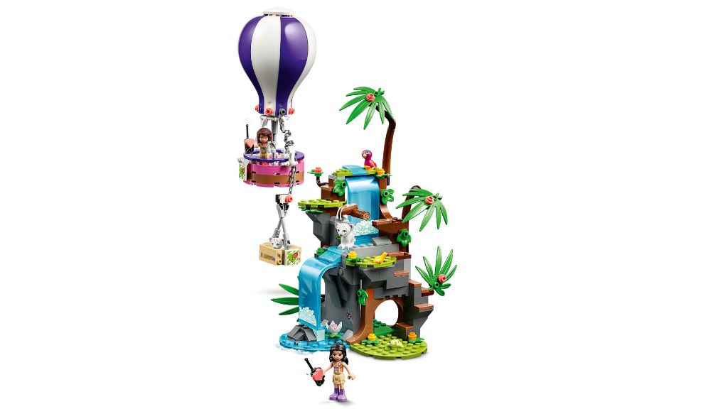 LEGO Friends 41423 Tiger Hot Air Balloon Jungle Rescue 4