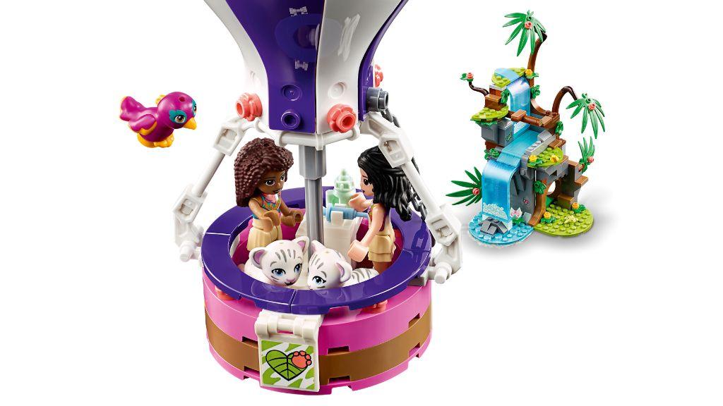 LEGO Friends 41423 Tiger Hot Air Balloon Jungle Rescue 7