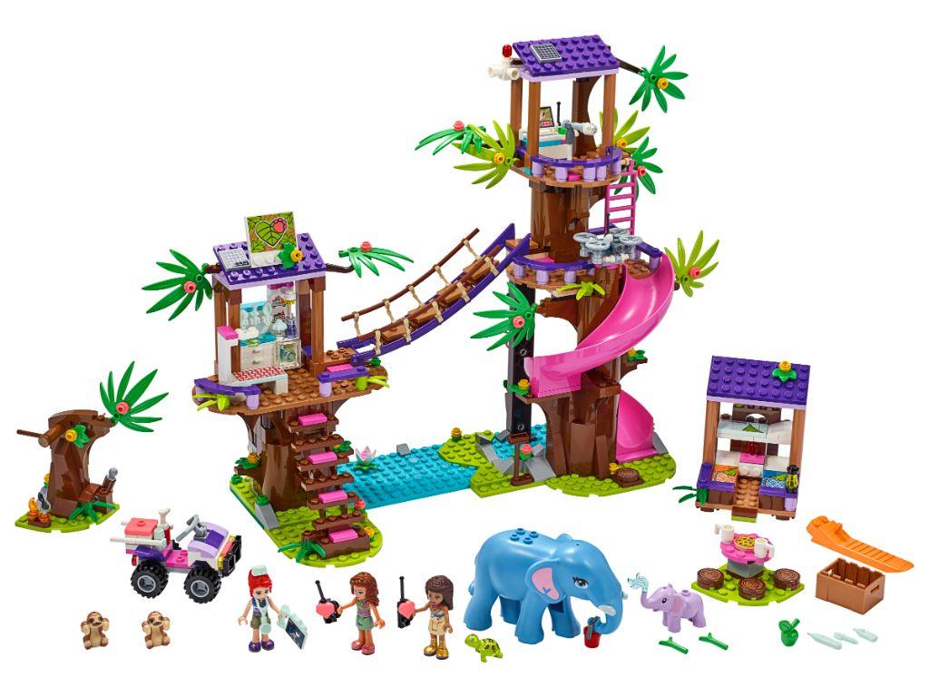 LEGO Friends 41424 Jungle Rescue Base 3