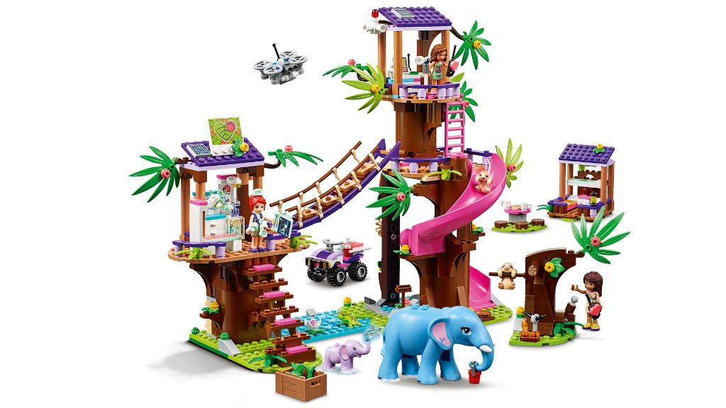 LEGO Friends 41424 Jungle Rescue Base 4
