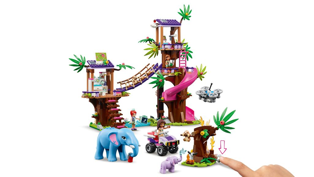 LEGO Friends 41424 Jungle Rescue Base 9