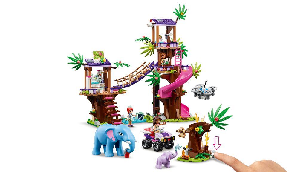 LEGO Friends 41424 Jungle Rescue Base 9
