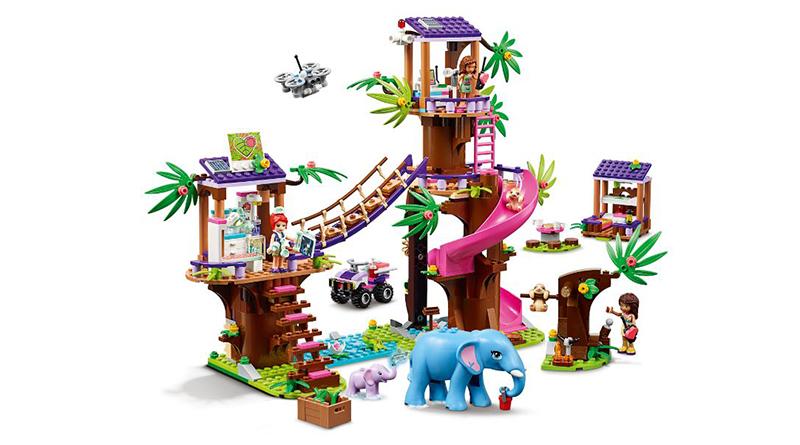 LEGO Friends 41424 Jungle Rescue Base Featured 1