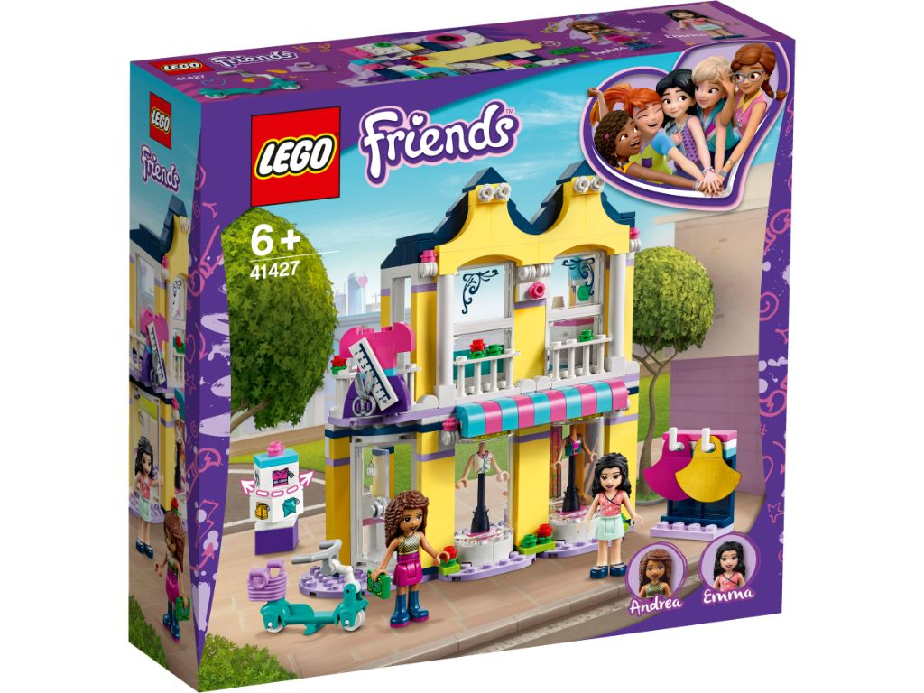 LEGO Friends 41427 Emmas Fashion Shop 1
