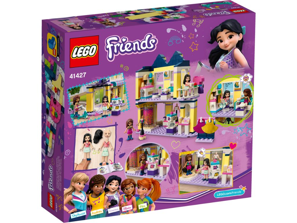 LEGO Friends 41427 Emmas Fashion Shop 2