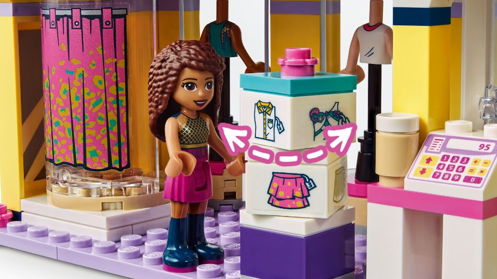 LEGO Friends 41427 Emmas Fashion Shop 7